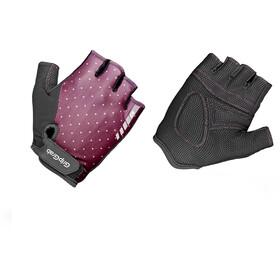GripGrab Rouleur Gepolsterte Kurzfinger Handschuhe Damen purple